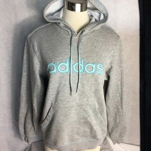 Adidas pullover hoodie size large